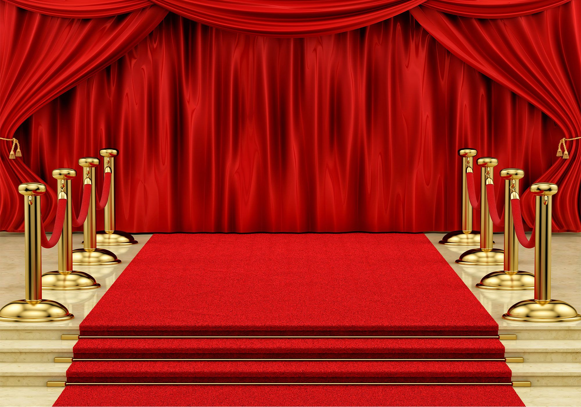 Red Carpet Curtain Backdrop Youtube Background Photo Studio Booth