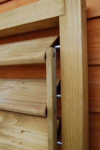 Shutter Panel Gartenhaus holz, Diy holz, Into the woods