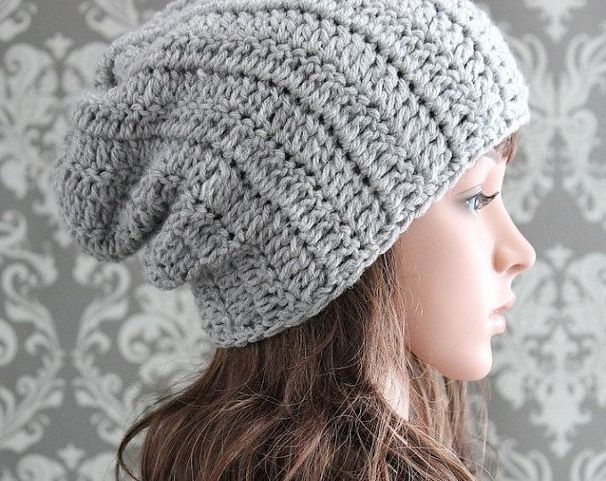 Crochet PATTERN - Crochet Hat Pattern - Slouchy Hat Pattern - Crochet Patterns - Includes Baby, Toddler, Kids, Adult Sizes - PDF 288