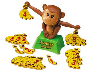 Monkey Math Balance at Lakeshore Learning - use when teaching unknown numbers in equations