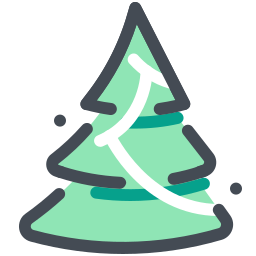 Christmas Tree Icon Free Download Png And Vector In 2020 Tree Icon Christmas Apps Christmas Tree