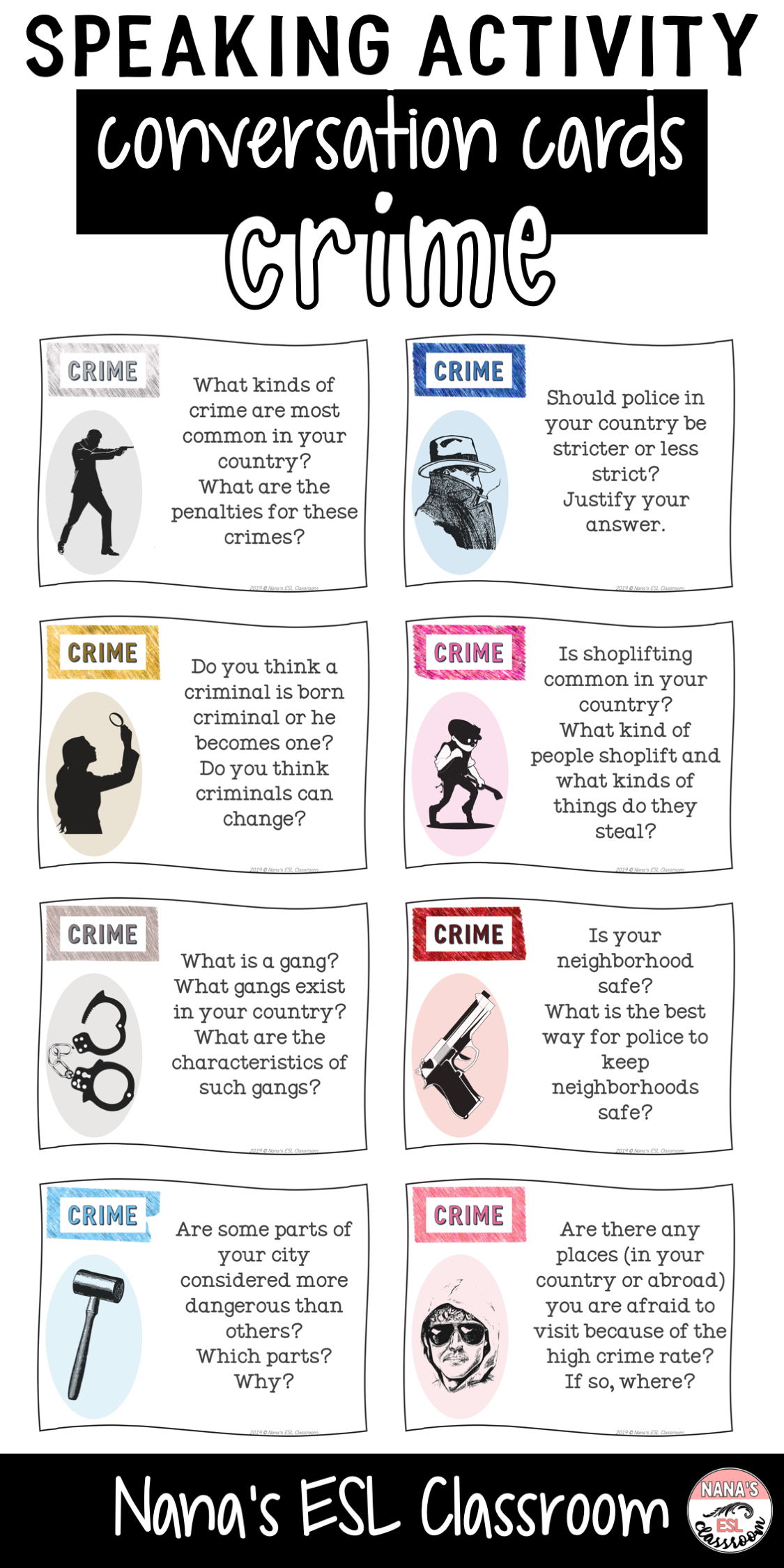 Conversation Starters About Crime
