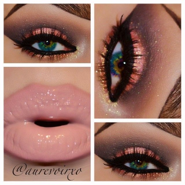 We love this look by #aurevoirxo using #MotivesCosmetics! Stunning!