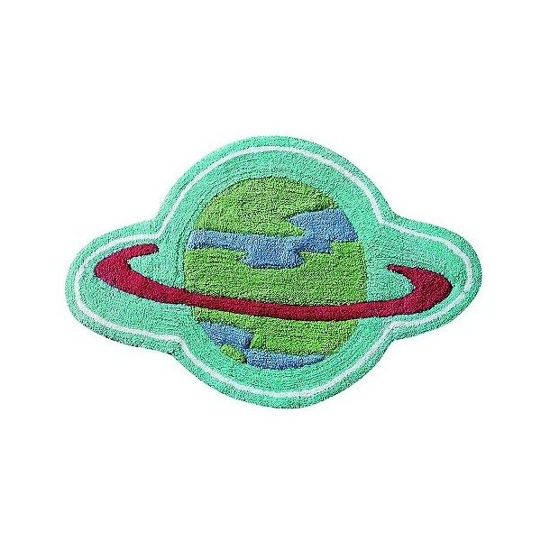 Big Believers Out Of This World Planet Bath Rug, Multi Colored (£8.62