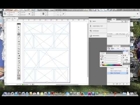 Making A Yearbook Template In Adobe Indesign You