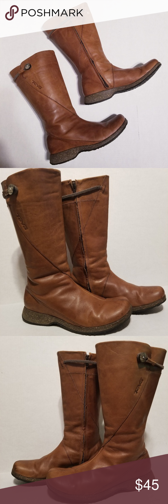 101a8124d991ae Teva Montecito Waterproof Leather Boots size 9 Beautiful pre-owned boots  with some signs of