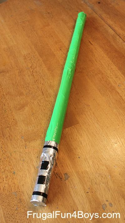 Duct Tape Lightsabers Craft Kid Blogger Network