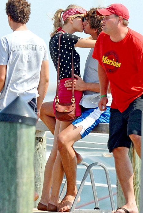 Taylor Swift Conor Kennedy Trampoline