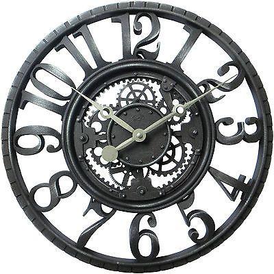 Gear Wall Decor new 22 antique gear wall clock, home decor rustic large art