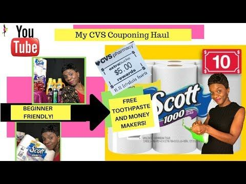 VLOG My CVS Couponing Deals & Haul This Week (5/65/12