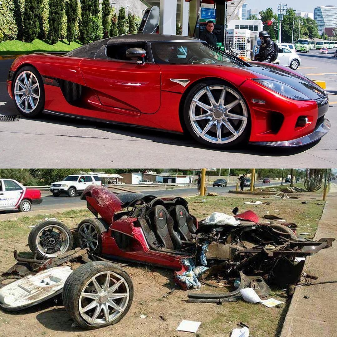 Koenigsegg Ccx Top Speed: The Koenigsegg CCX 'Custom Vision' Before And After Its