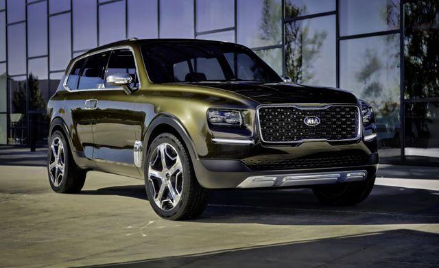 2019 Kia Telluride Luxury Suv Suv Kia Motors