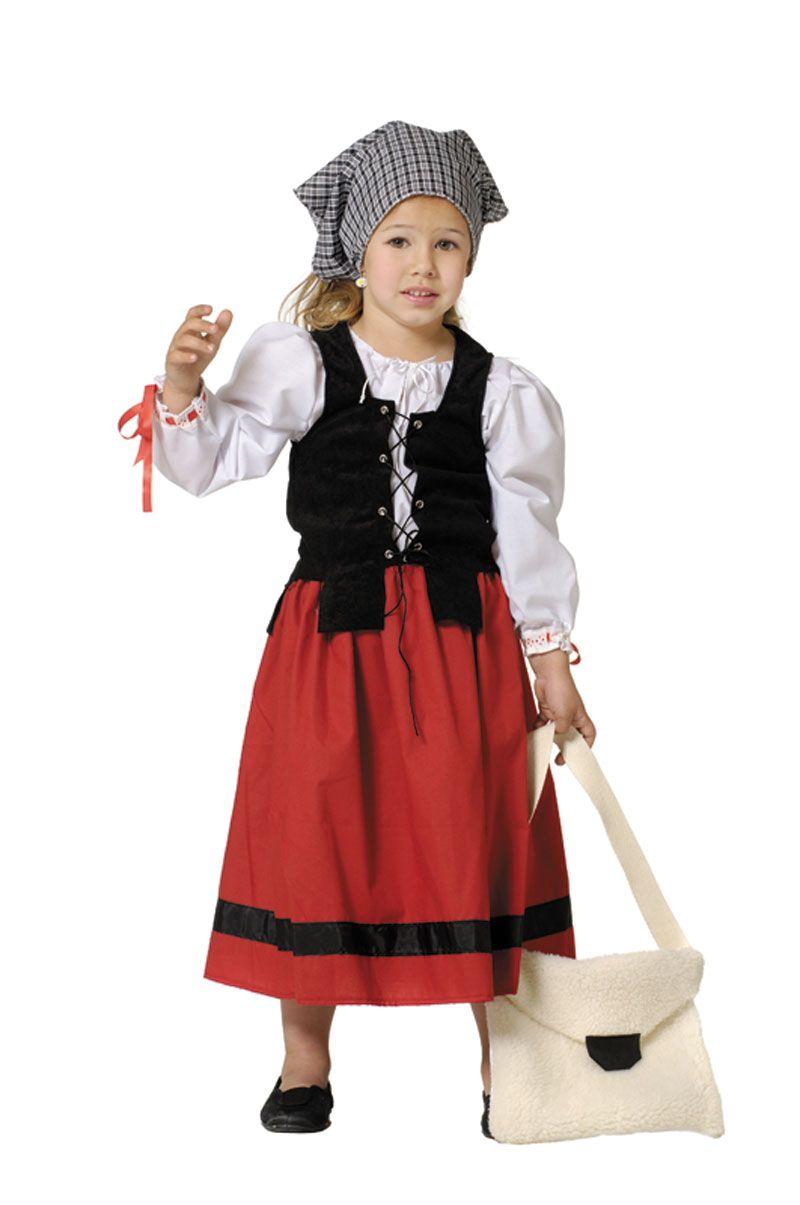 disfraz de campesina medieval para nia disfraces