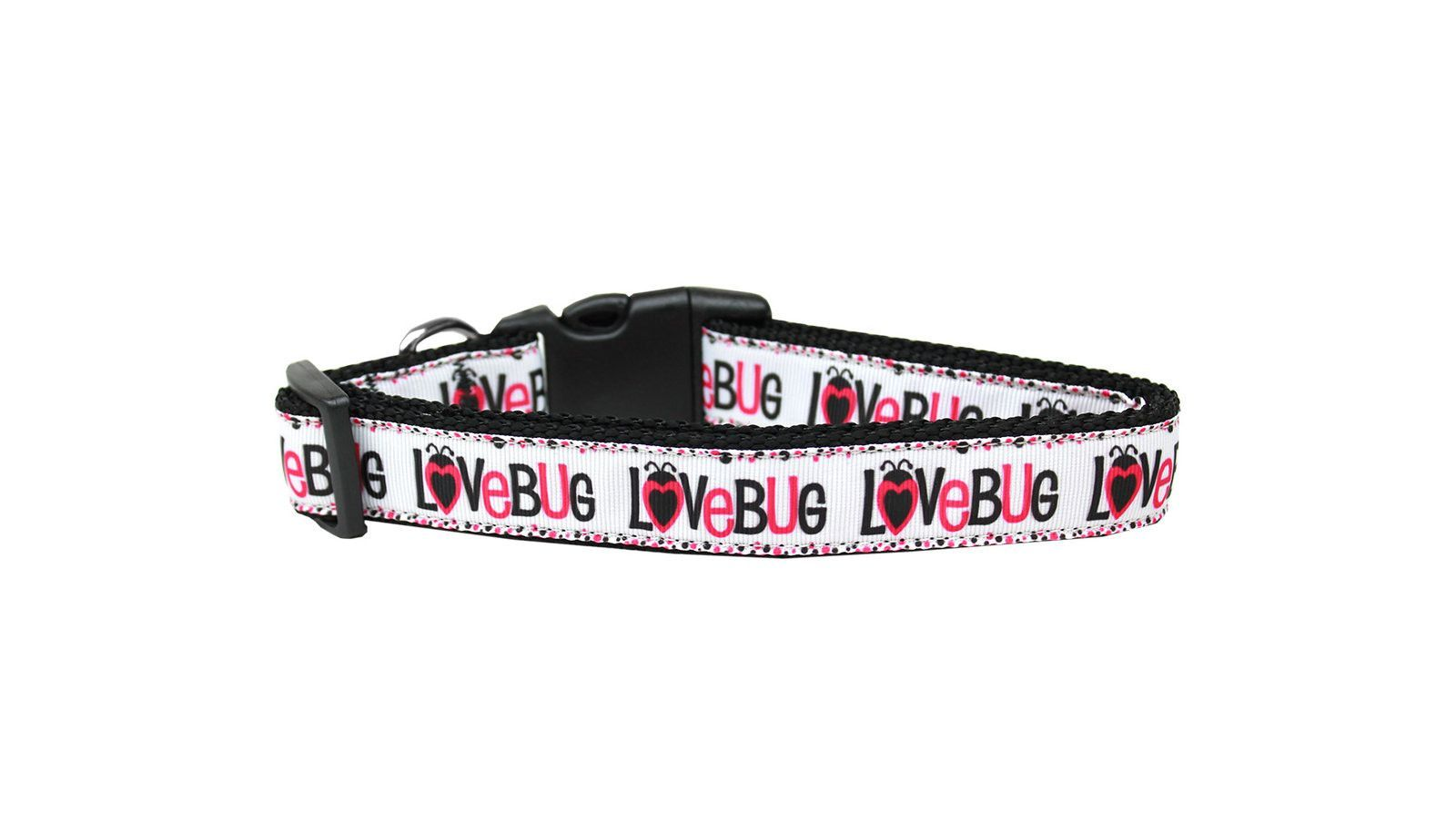 Nylon Dog Collar - Lovebug