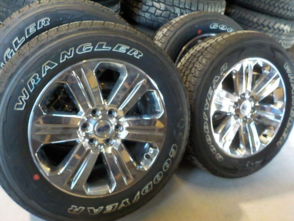 Advertisement Ebay 4 Ford F150 Factory 20 Chrome Wheels
