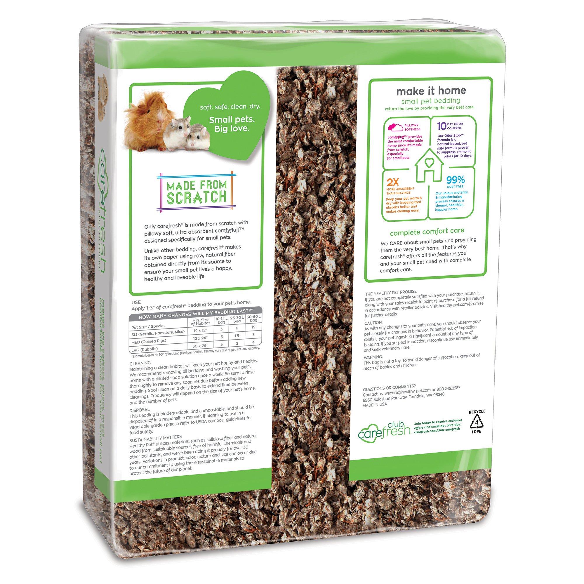 Carefresh Natural Small Pet Bedding, 60 liters Petco