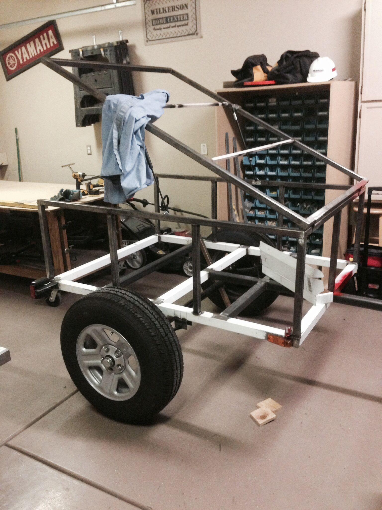 Jeep Trailer In Progress