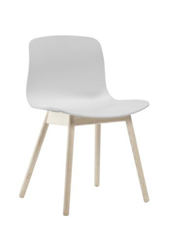 Hay Stuhl About A Chair Aac 12 Weiss Gestell Eiche Geseift