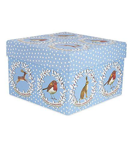 PENNY KENNEDY Wreath print gift box