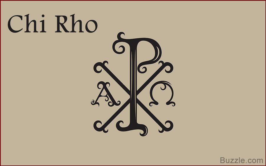 Chi Rho Catholic Symbol Meaning Images Symbol Text Art
