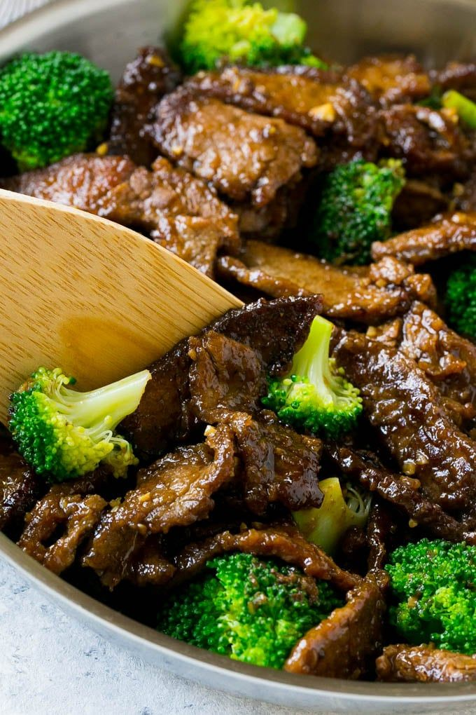 A pan of beef and broccoli stir fry with a spatula in it main delightful chinese beef broccoli stir fry recipe this healthy delicious chinese inspired dish is just the kind of meal your family needs to keep those bugs forumfinder Gallery