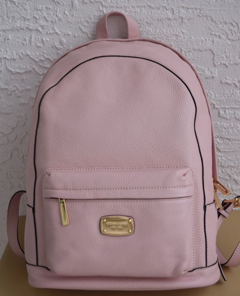 MICHAEL KORS JET SET ITEM LARGE LEATHER BACK PACK BLOSSOM PINK NWT   MICHAELKORS  Backpack d839704c26c8d