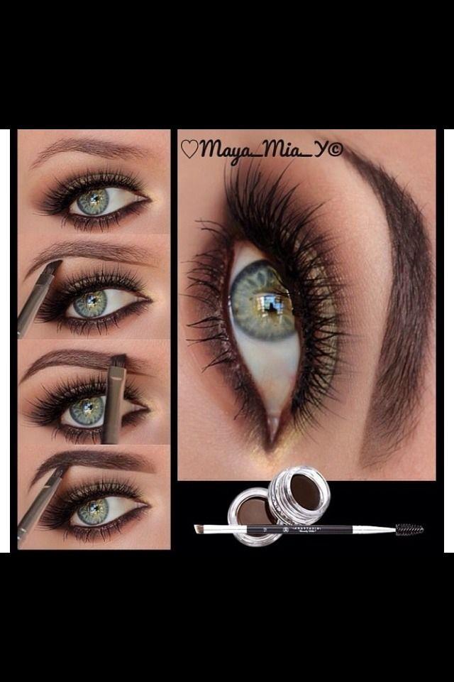 Super Easy Eyebrow Pictorial!! Please LIKELIKELIKE💋💋