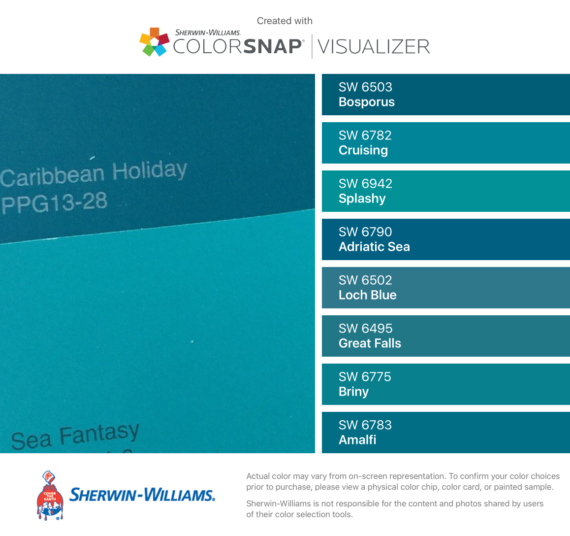 I Found These Colors With Colorsnap Visualizer For Iphone By Sherwin Williams Bosporus Sherwin Williams Sherwin Williams Paint Colors Paint Colors For Home [ 1088 x 1158 Pixel ]