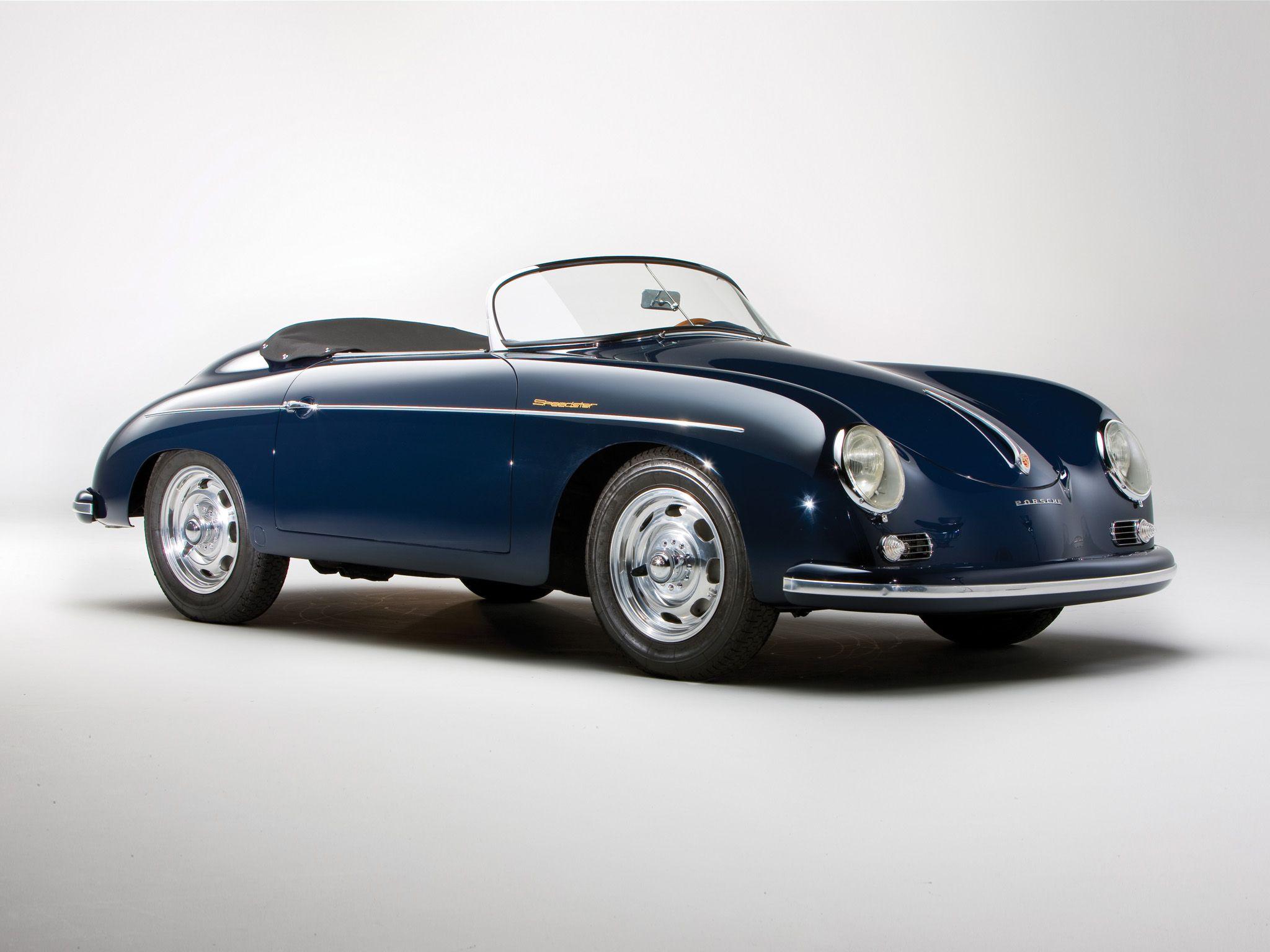 1958 Porsche 356a 1600 Speedster Us Spec T 2 Retro Ff Wallpaper 2048x1536 130578 Wallpaperup Porsche 356a Vintage Porsche Porsche 356 Speedster