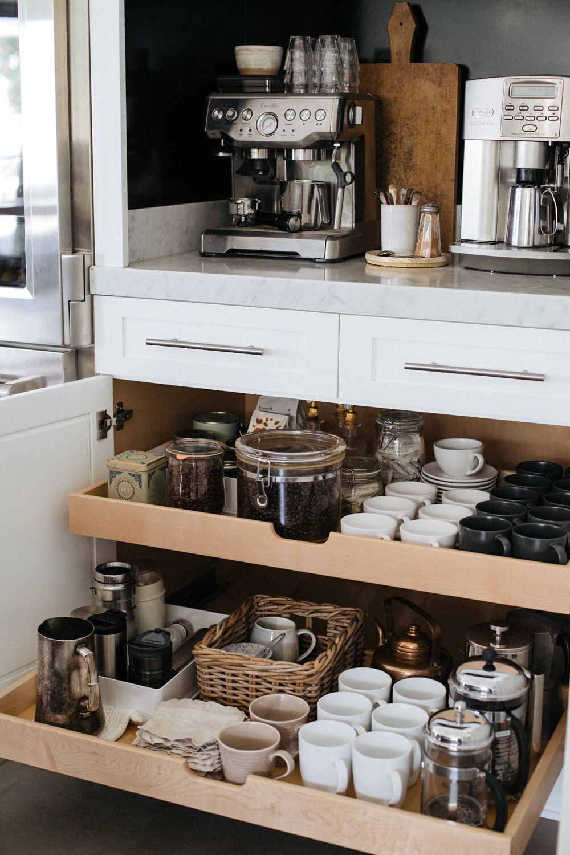 Photo of Coffee Station Ideas —   HEATHER BULLARD