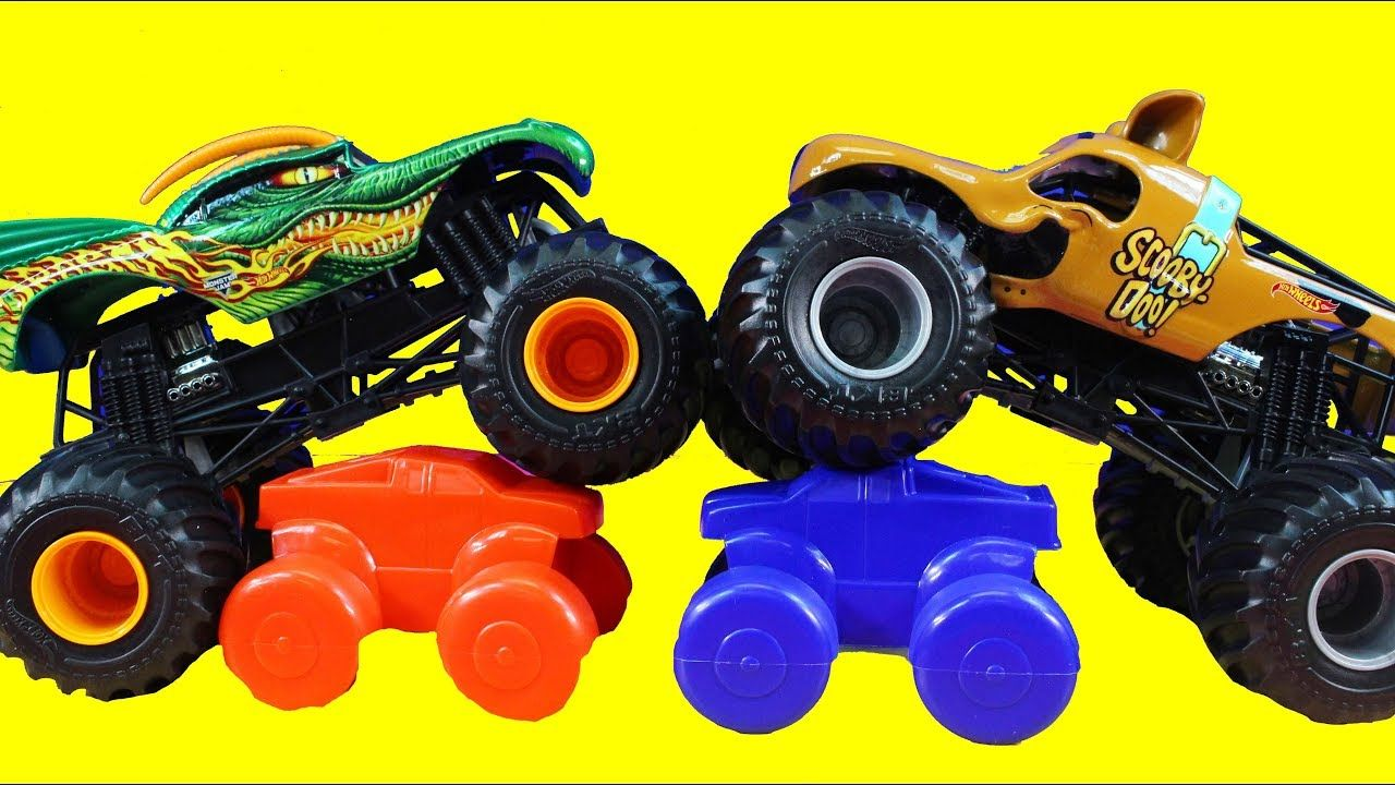 Huge Toy Collection Of Hot Wheels Monster Jam Front Flip Takedown Scooby Doo Truck And More Youtube Monster Jam Toys Hot Wheels Monster Jam Toy Collection