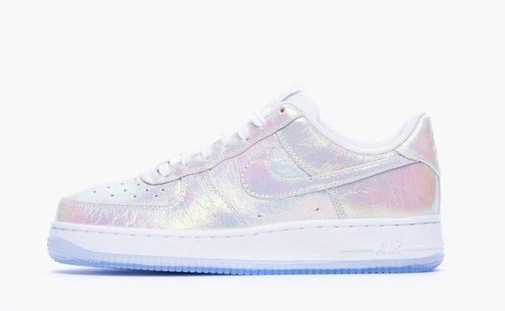 los angeles 90f23 4d6f2 Nike Womens Air Force 1 Iridescent Pearl