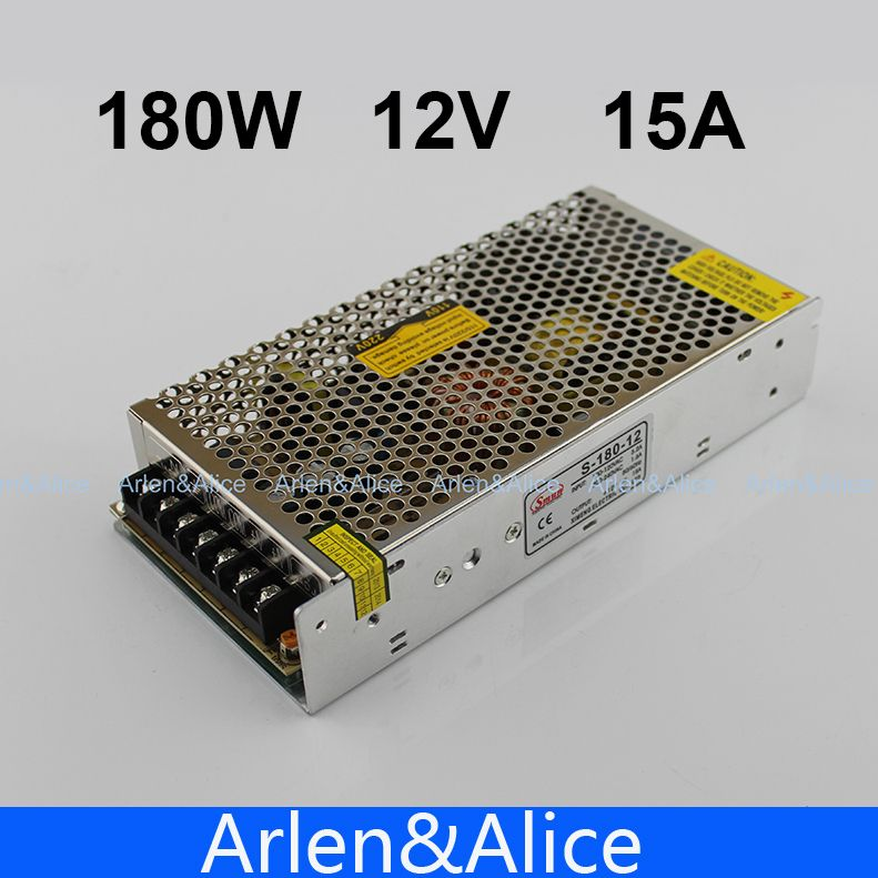 180w 12v 15a Single Output Switching Power Supply For Led Strip Light Ac To Dc Led Strip Lighting Strip Lighting Electrical Equipment