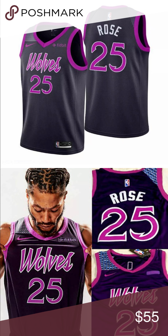 Derrick Rose Timberwolves Jersey New With Tags Brand New Derrick