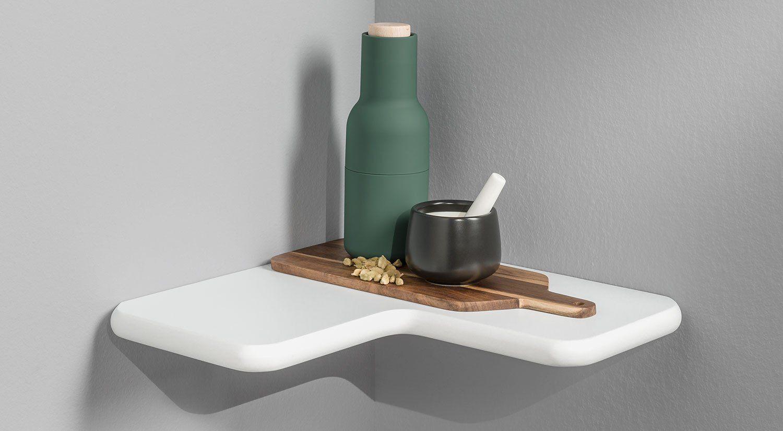CLEA Eckregal in 2019 Eckregal, Regal und Eckregal küche