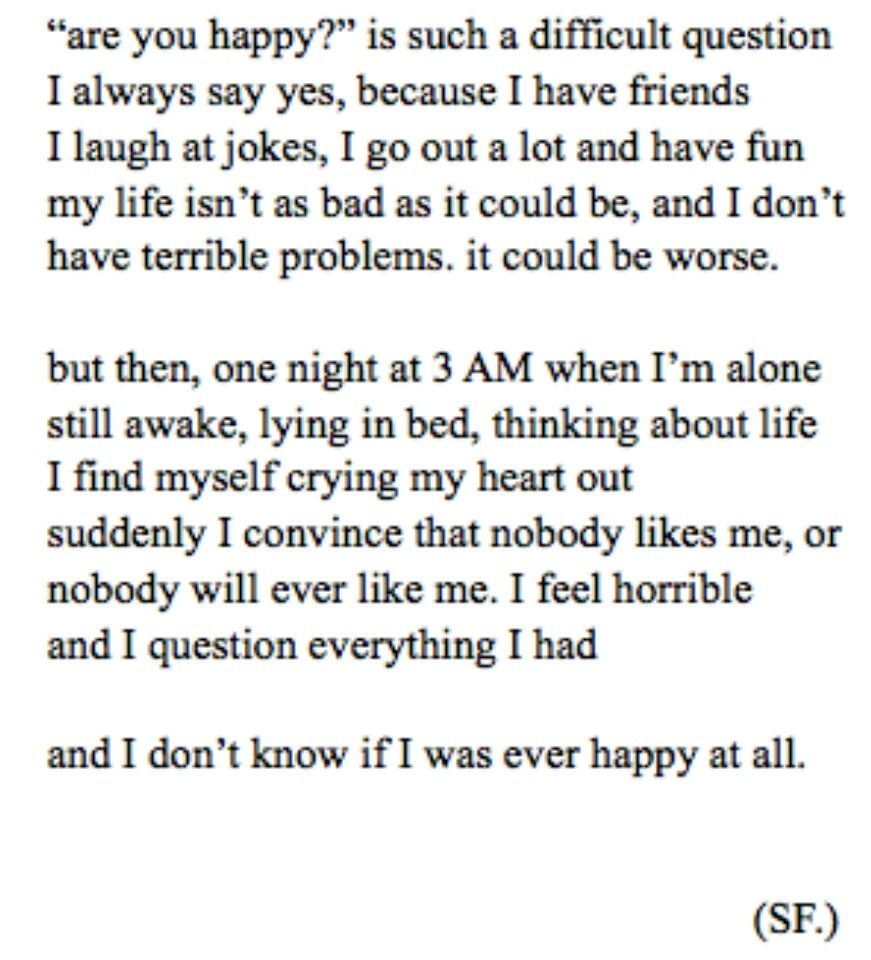 Sad Quotes About Depression: DriverLayer Search Engine