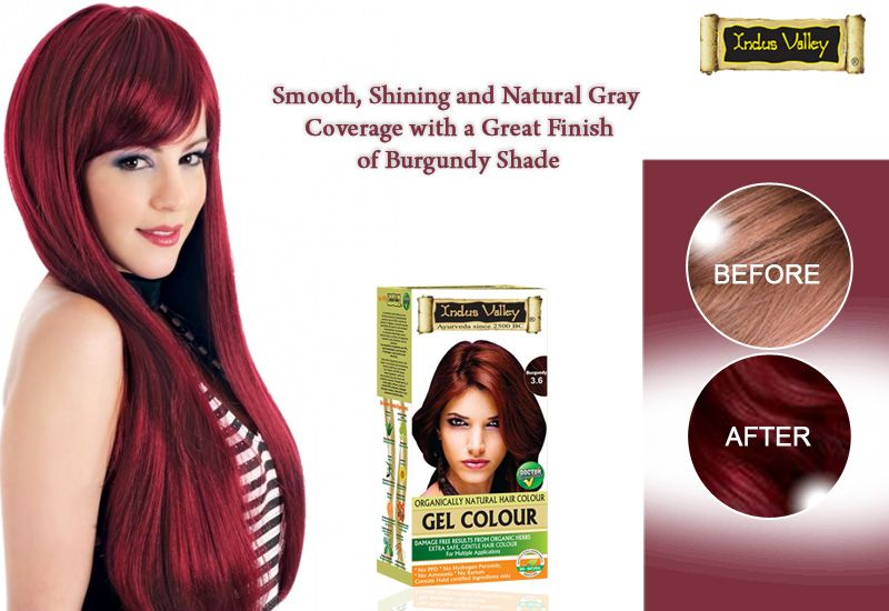 Burgundy 3.6 Gel Hair Color