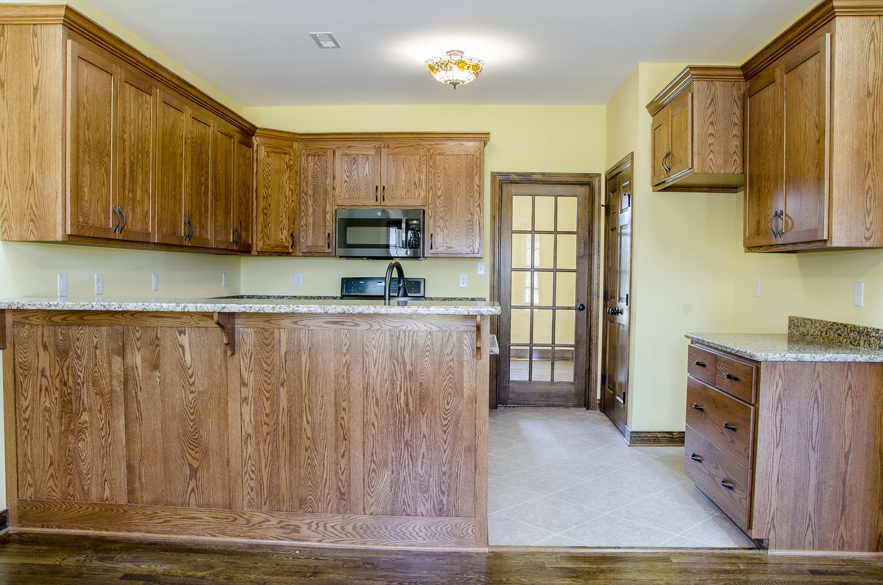 Kitchen With Woodcabinets And Lots Of Cabinets For Storage Kitchengoals Kitchen Balducci Builders Inc Custom Kitchens Kitchen Wood Cabinets