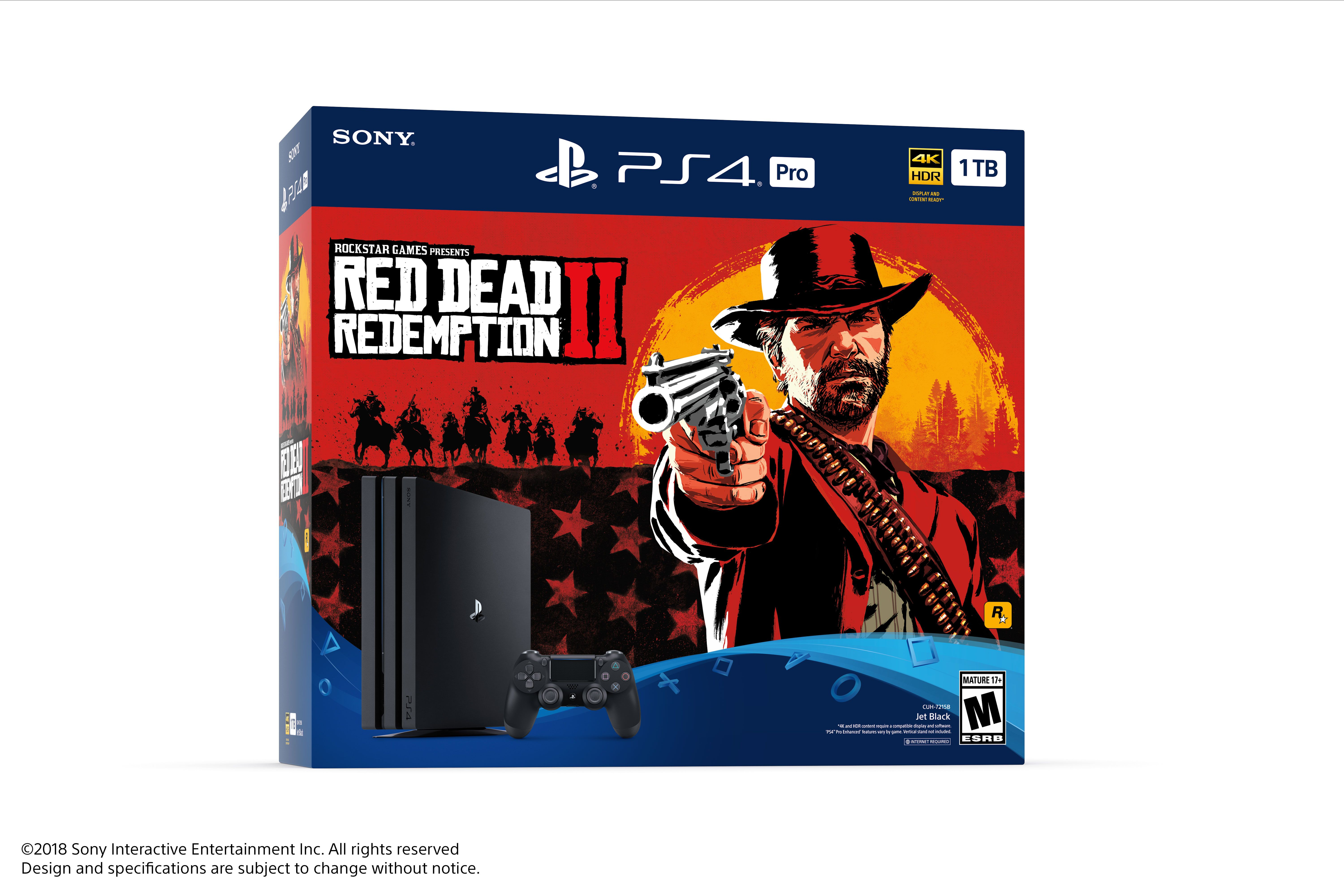 Sony Playstation Red Dead Redemption 2 Ps4 Pro Bundle Red Dead Sony Flanker In 2019 Red Dead Redemption Ii Ps4 Or Xbox One Red Dead Redemption