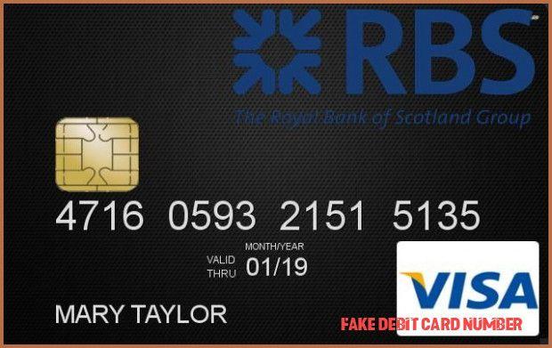 Online credit card number