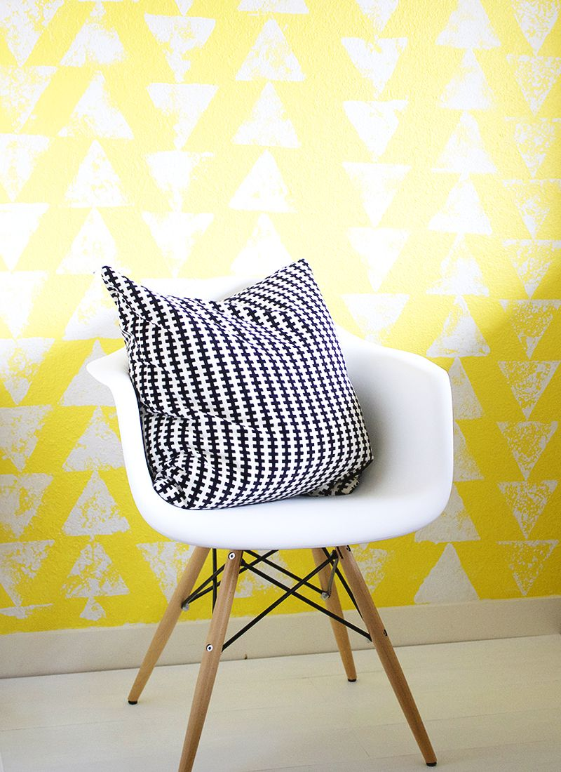 A fast and easy accent wall diy pinterest