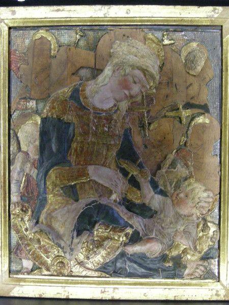 Donatello - Madonna dei Cordai - 1434 - Museo Stefano Bardini - Firenze