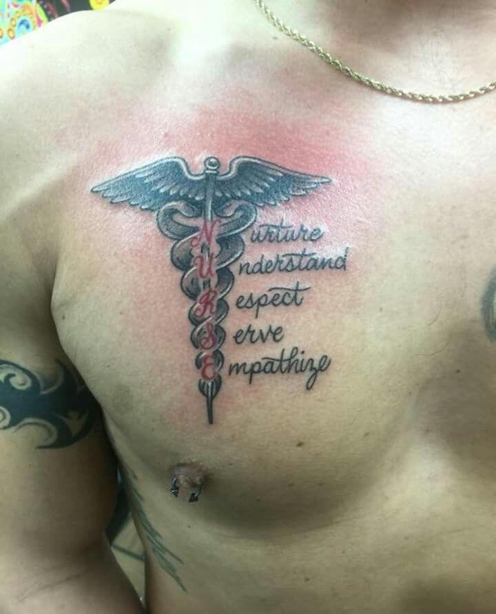Tattoo Ideas Nurse: Nurse Tattoo--I Would Do It A Little Differently But