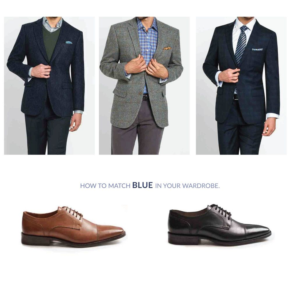 93f90095593eca Men fashion for those who need a little help mixing your blues Clothing  Company, Mens