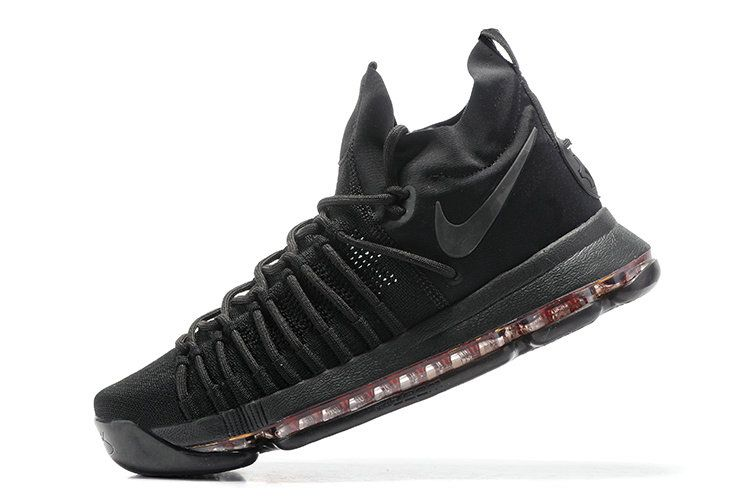 promo code 4840b 3c86f June Latest New Arrival KD 9 IX Elite Anthracite Triple Black New Kevin  Durant Shoes Cheap For Sale