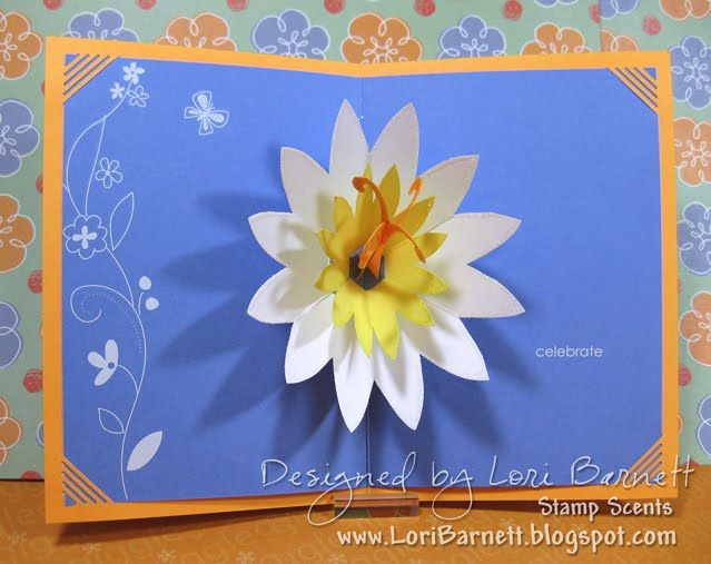 Pop Up Card Pop Up Lotus Pop Up Flower Cards Pop Up Card Templates Flower Cards