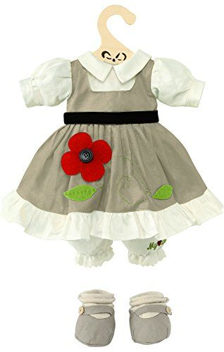 My Doll Vestito color tortora con fiore per bambola da 42cm My Doll http://www.amazon.it/dp/B00OYTTD06/ref=cm_sw_r_pi_dp_XU59ub0T3ZT75