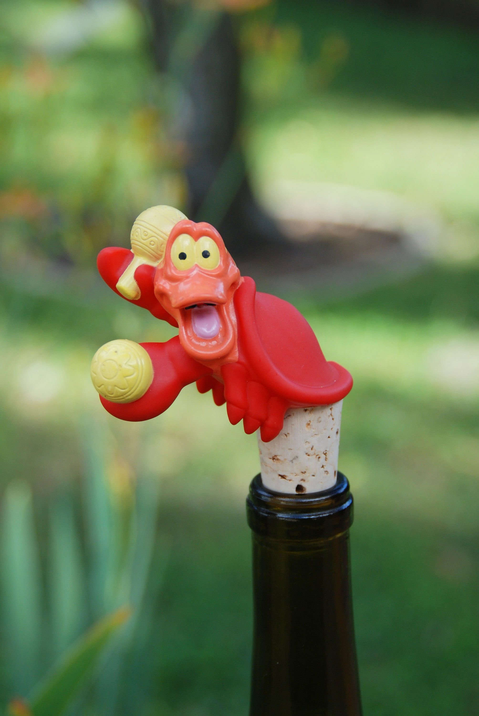 Sebastian Wine Bottle Stopper Disney The Little Mermaid Crab By Gulfcoasters On Etsy Wine Bottle Stoppers Bottle Stoppers Wine Bottle