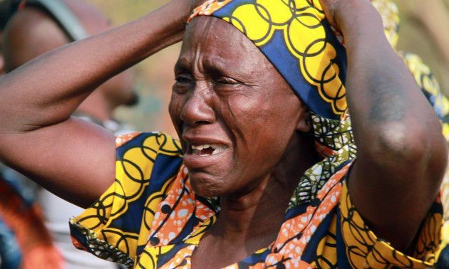 Image result for Crying Northern Women In NIgeria