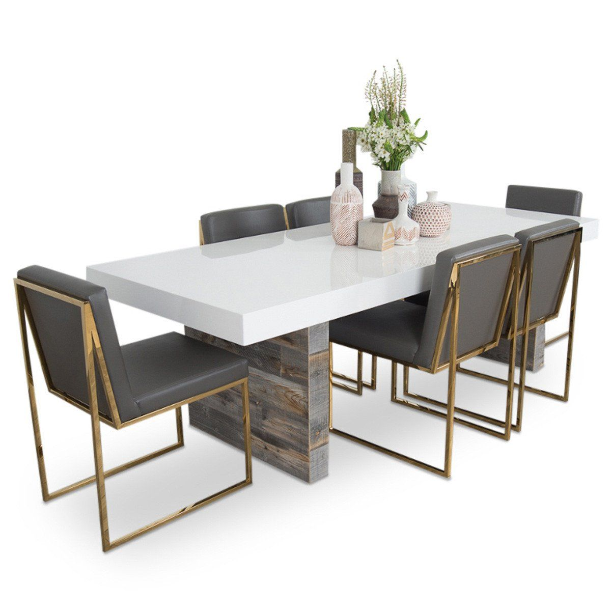 Cody 9 Dining Table in 9   Dining table marble, Dining room ...